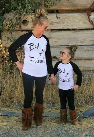 Mommy and Me Best Friends T-shirt