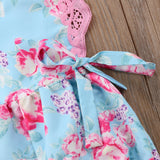 Miss Rose Patchwork Romper