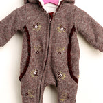 Baby Soft adventure Zippered Romper