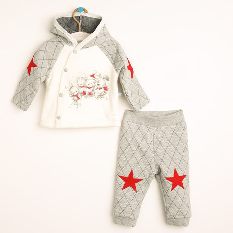 Baby Super Soft Sweatshirt and Trousers Set