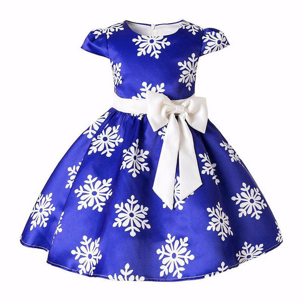 Adorable Snowflake Dress - Debbie's Kids Boutique