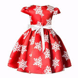 Christmas Snowflake Dress - Debbie's Kids Boutique