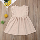 Stunning Baby Girl Ruffle Sleeve Dress
