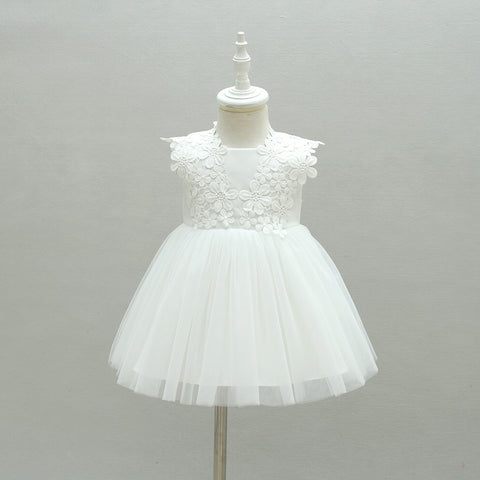 Baby Christening/Baptism Dress - Debbie's Kids Boutique