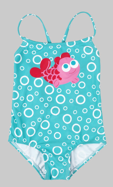 Baby Printed Swimsuit - Debbie's Kids Boutique