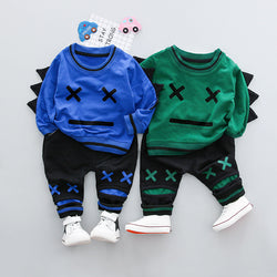 Little Robots T-shirt& Pants Set
