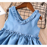 Little Maven's Denim dress - Debbie's Kids Boutique