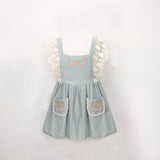Girls Vintage Beach dress