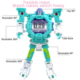 Children Robot Electronic Watch