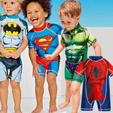 Boys Superhero swimsuit