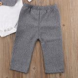 Little Gentleman Formal Romper and Pant set