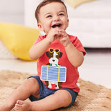 Launch in Space Little Boys Tee and shorts Set