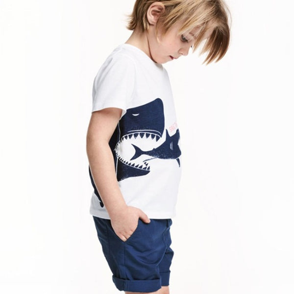 Sharks Little Boys Tee