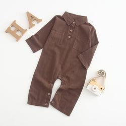 Little Gentlemen Rompers