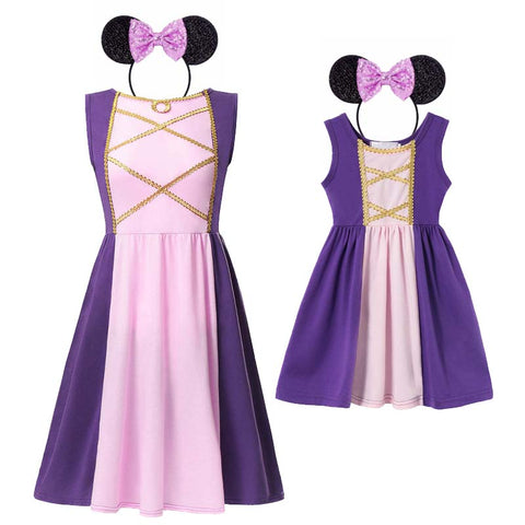 Mommy and Me Rapunzel Princess Costume