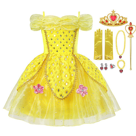 Mid Summer Princess Ball Gown Birthday Party Dress