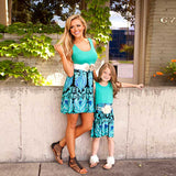 Mommy and me matching Dress