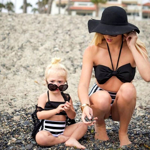 Mommy and Me matching Swim Suit