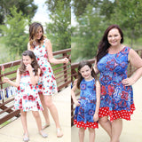Mommy and Me matching floral sundress