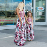 Mommy and me Floral Maxi Dresses