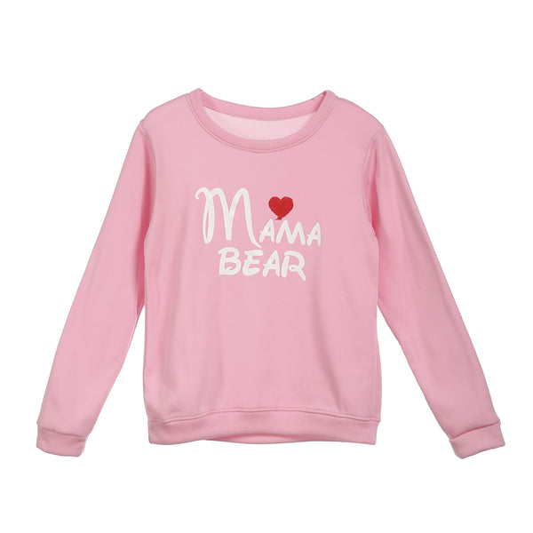 Mama Bear matching sweatshirt