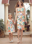 Mommy and me Boho Sundress
