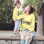 Mommy and Me Matching  Sweatshirt