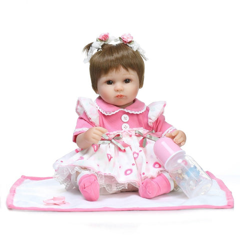 Girl's Baby Doll 17""