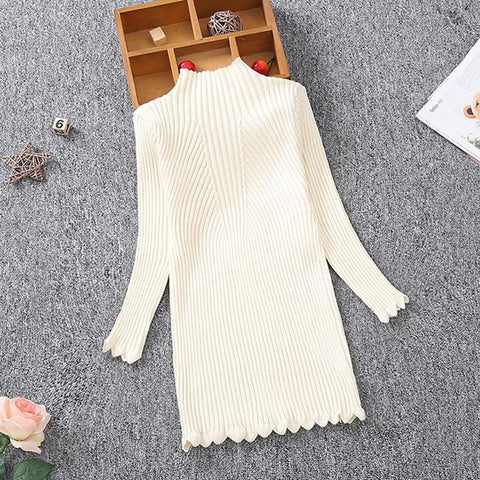 Girls Knitted Sweater dress