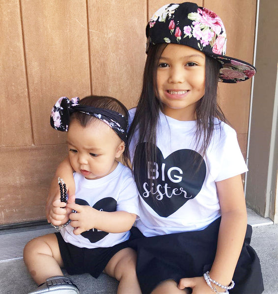 Big Sister, Little Sister Matching T-shirt and Onesies - Debbie's Kids Boutique