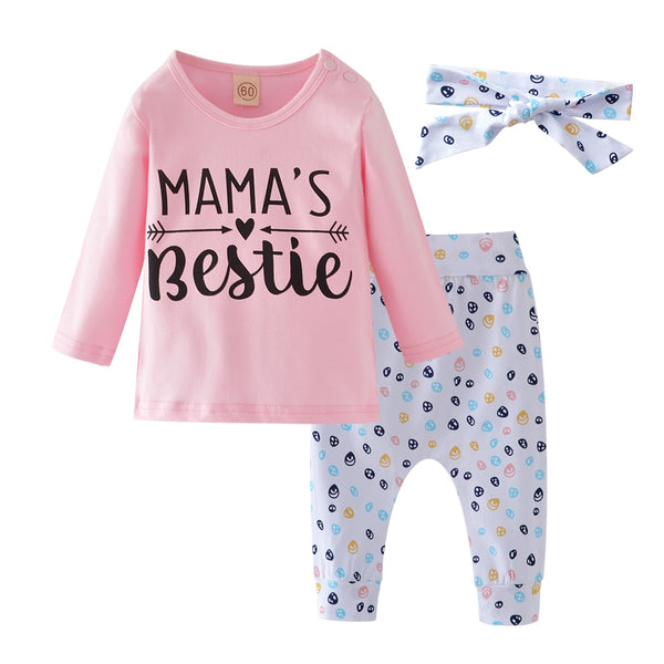 Mama's Bestie 3 pcs outfits