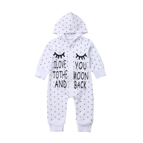 Love you to moon and back Romper