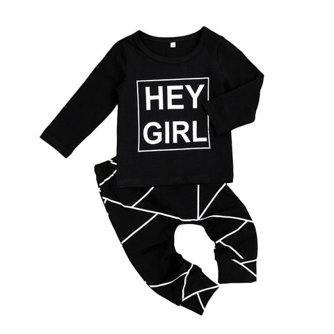 Hey Girl 2 pcs outfit