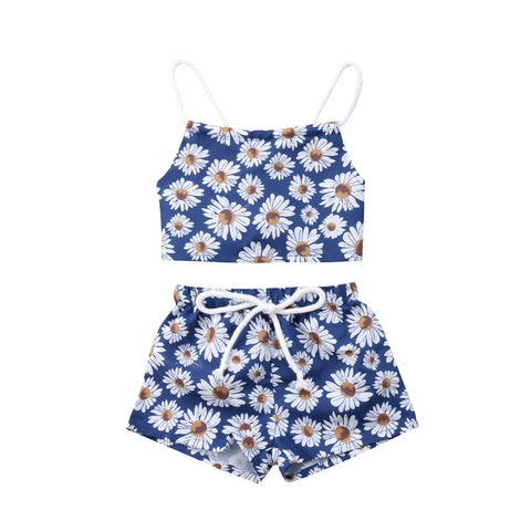 bfaf5d6bee ... Daisy Backless Halter Romper and Headband - Debbie s Kids Boutique ...