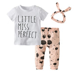 Little Miss Perfect 3 pcs outfit