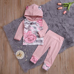 Rose Floral Girls 2 pcs set