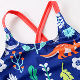 Girls Dinosaurs swimsuit