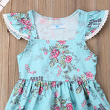 Fly Sleeve Sundress