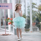 Stunning Lace tutu Flower Girl Dress