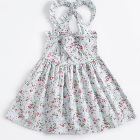 Miss Rose Little Girls Floral Dress