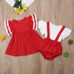 Matching Sisters Holiday Dress/Romper