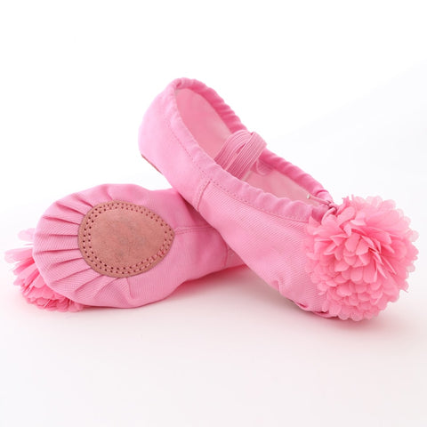Soft Canvas Ballet Shoes