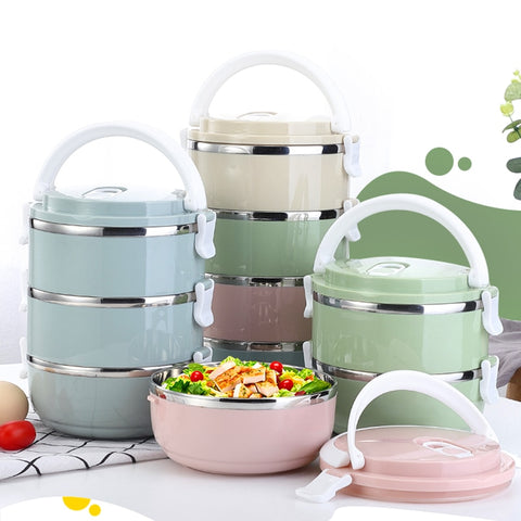 Stainless Steel Thermal stackable Lunch Box