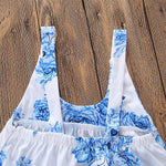 Pretty Blue Romper