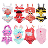 Baby Girl Swan Swimsuit