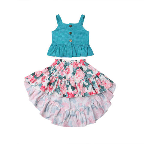 Miss Rose Spring Delights 2 pcs outfit
