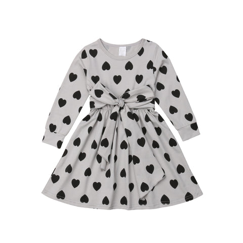 Lovely Girl's Heart Dress