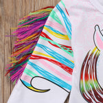 Little Girls Unicorn Top
