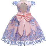 Girl's Winter Flower Girl Dress