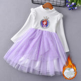 Snow Queen Birthday Dress